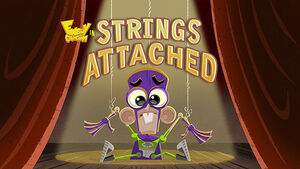 Strings Attached title card