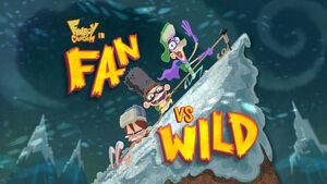 Fan vs. Wild title card