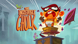 The Incredible Chulk title card