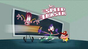 Speed Eraser title card