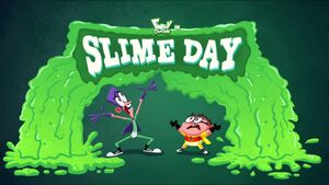 Slime Day title card