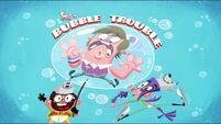 Bubble Trouble title card