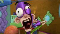 Fanboy's third toothache scream