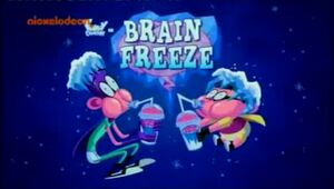 Brain Freeze title card
