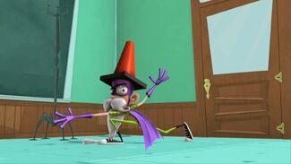 Wizard Fanboy pose s1e1a