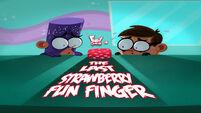 The Last Strawberry Fun Finger title card