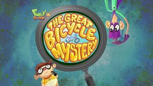 The Great Bicycle Mystery title card
