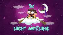 Night Morning title card