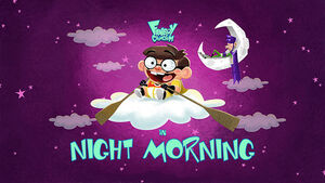 Night Morning title card