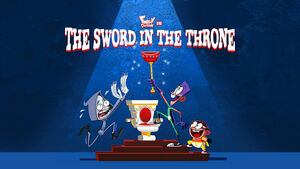 The Sword in the Throne title card