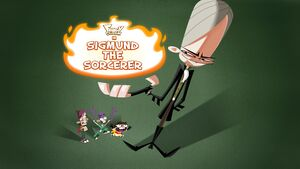 Sigmund the Sorcerer title card