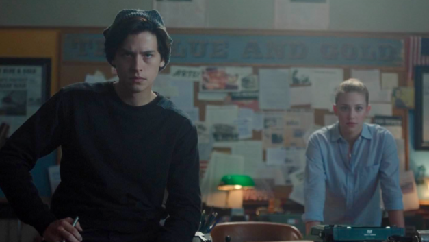 Riverdale Bughead Blue and Gold