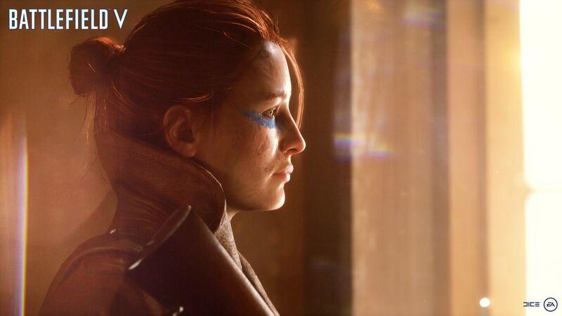 Battlefield V Female Soldier