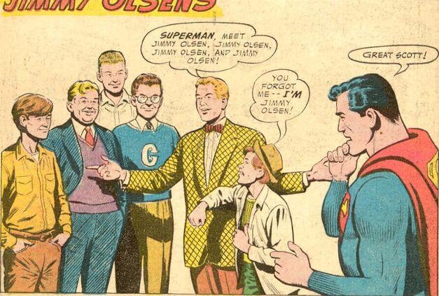 Jimmy Olsen #13 - Six Jimmy Olsens 1