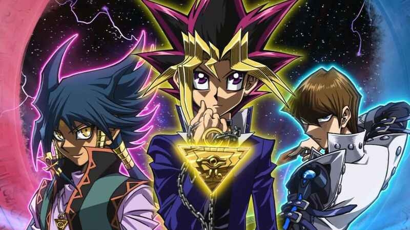 the anime of yugioh