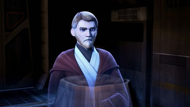 Obi-Wan Kenobi from Star Wars Rebels: Spark of Rebellion