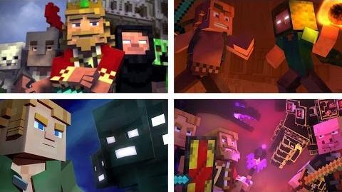 Fallen Kingdom- The Complete Minecraft Music Video Series