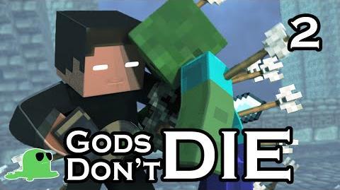 """Gods Don't Die"" - The Sequel - EPIC FIGHT Minecraft Animation"