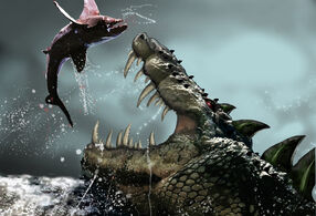 Fantasy-art-creatures-alligator-huge-fish