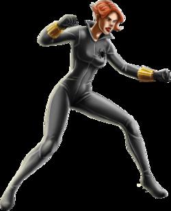 Black Widow-Grey Suit-iOS