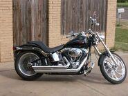 2008 Harley Davidson FXSTC Softail Custom