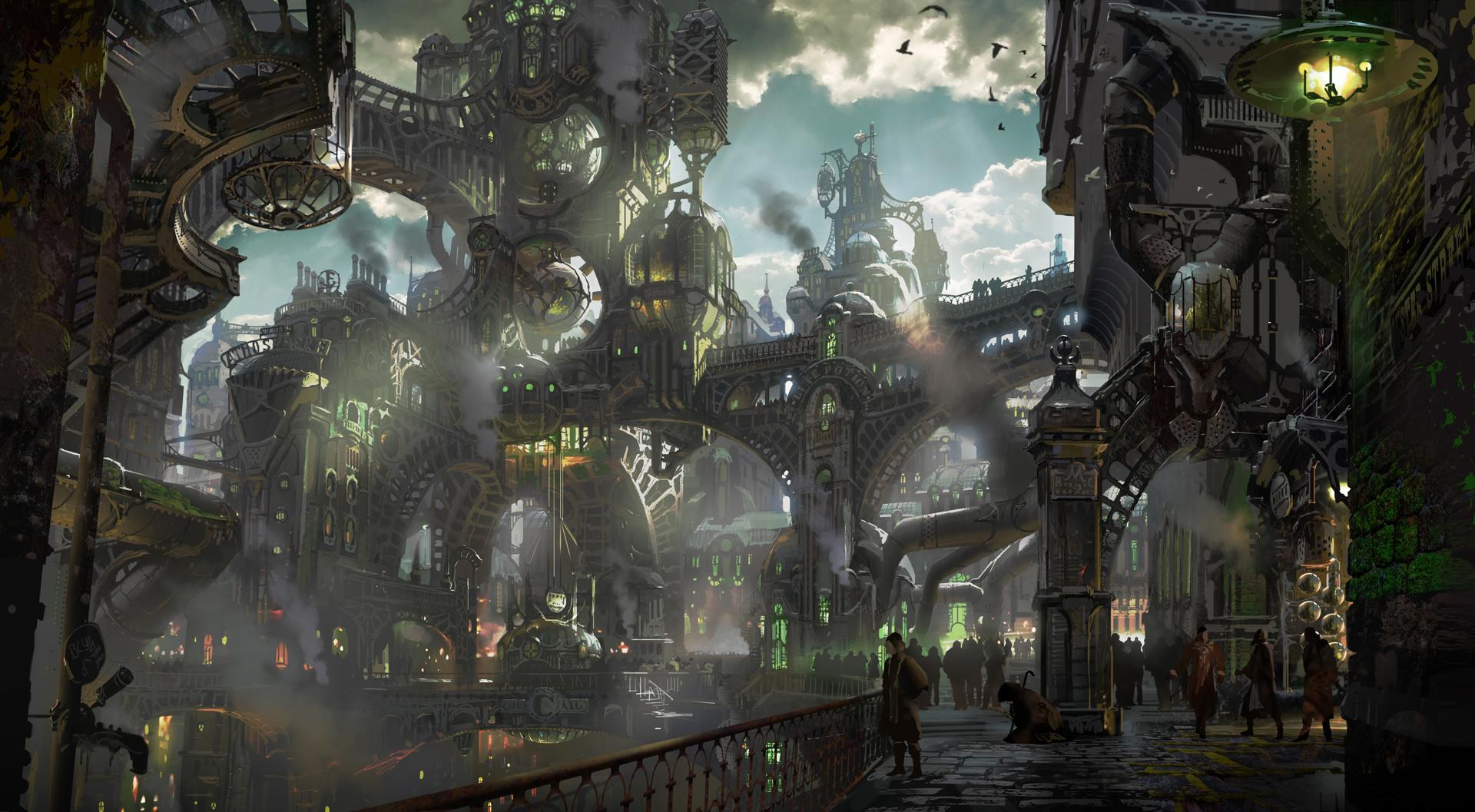 Einzigartig Super Zaun Sammlung Von Steampunk Slums.jpg