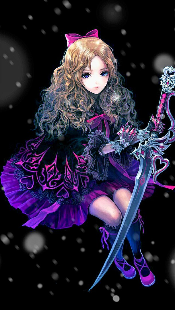 Image Anime Black And Red Cool Curly Hair Favim Com 2410133 Jpg