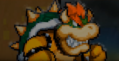 OMM-Bowser VS Mecha Sonic Bowser
