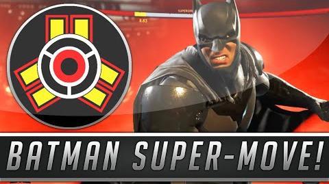 Batman's Super Move