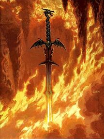 Inferno Dragon Blade