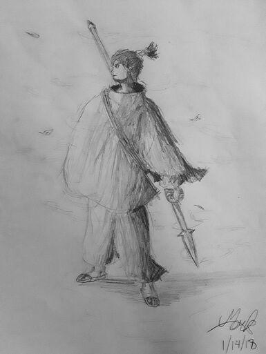 Noah the Spearman of the Wind
