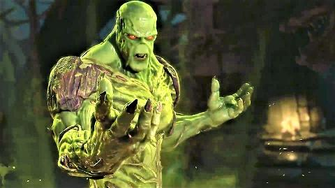 Swamp Thing's Super Move
