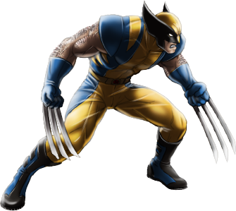 Wolverine-Yellow and Blue-iOS