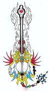 Forbidden keyblade ver 3 by leon259-d5f8403