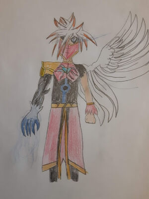 Crystal Heart Angel Akria Image
