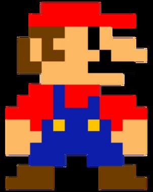 Mario 8BitSpirte