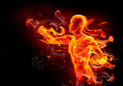 Flaming Man