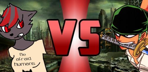 Ishtar Lamia VS Roronoa Zoro2