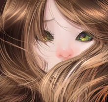Semirealistic anime girl 1 by dragonbunnygirl-d8gk1vl