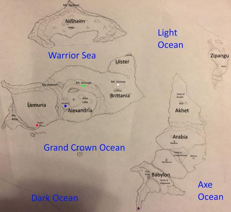 Algo's World Map