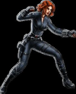 Black Widow-Avengers-iOS
