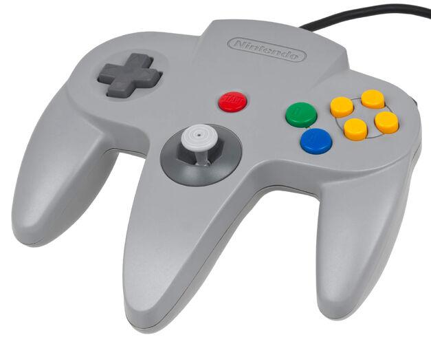 Nintendo-64-Controller