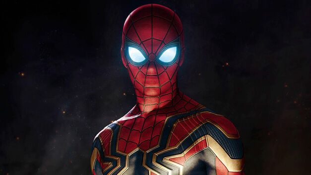 iron spider armor feature