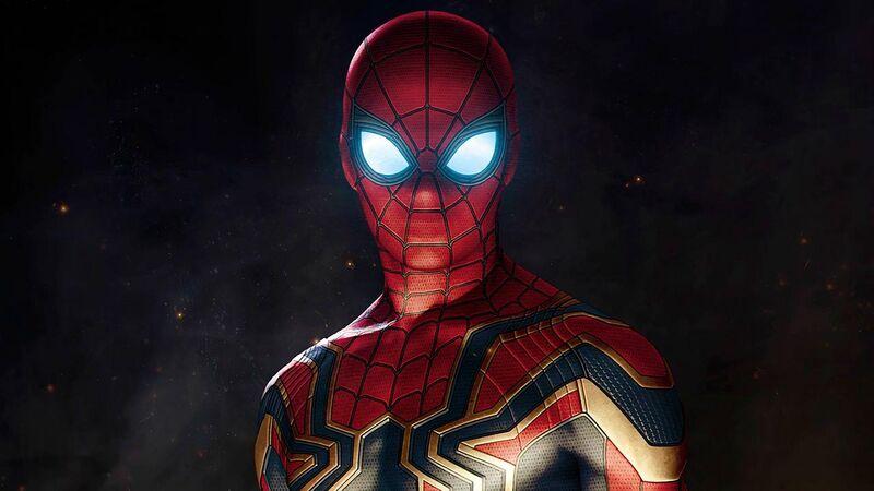iron spider armor feature