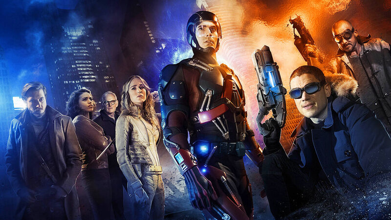 Promotional image for Legends of Tomorrow