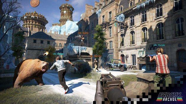 Far Cry 5 PvP animals