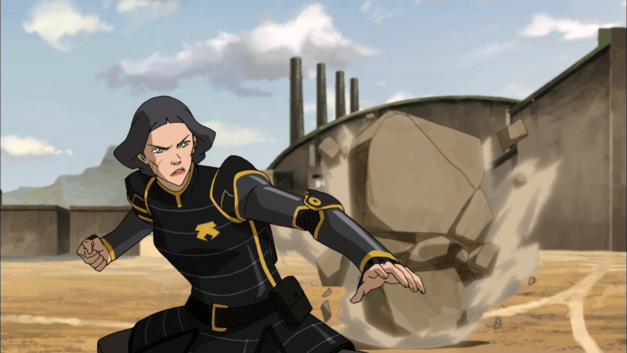 Avatar-Legend-of-Korra-Lin-Beifong-in-action