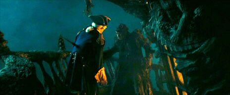 Stiefelriemen tötet Norrington
