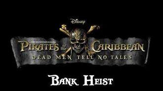 09. Bank Heist - POTC- Dead Men Tell No Tales Recording Sessions