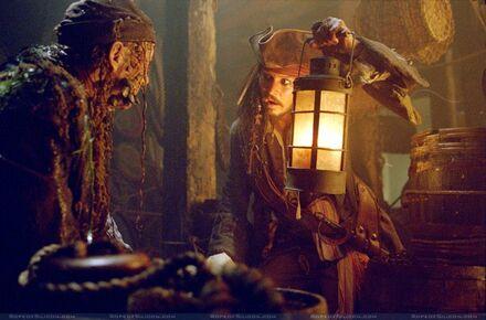 Stiefelriemen besucht Jack Sparrow